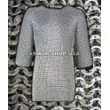 Aluminium Flat Riveted Chainmail Shirt M Size