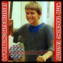 Butted Chainmail Shirt Youth Size 10-15 years Chain Mail Costume Armor