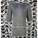 Aluminium Round Riveted Chainmail Shirts